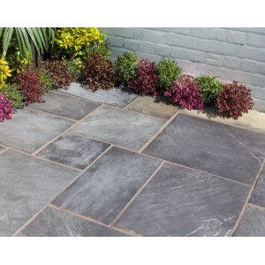 Natural Slate Sapphire Black Patio Kit