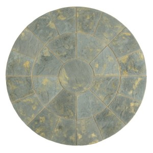 Abbey Antique Circle Patio Kit