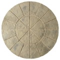 Minster Rustic Sage Circle Patio Kit