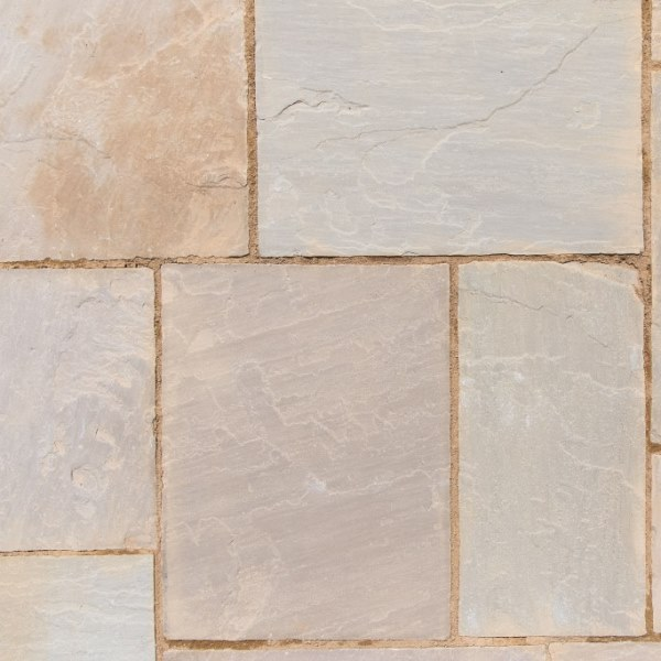 Natural Sandstone Cornfield Patio Kit