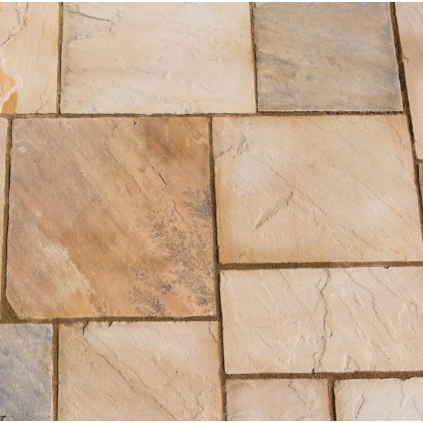 Natural Sandstone Eastern Sand Patio Kit