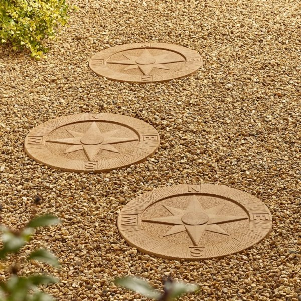 Compass Stepping Stones - Pack of 56