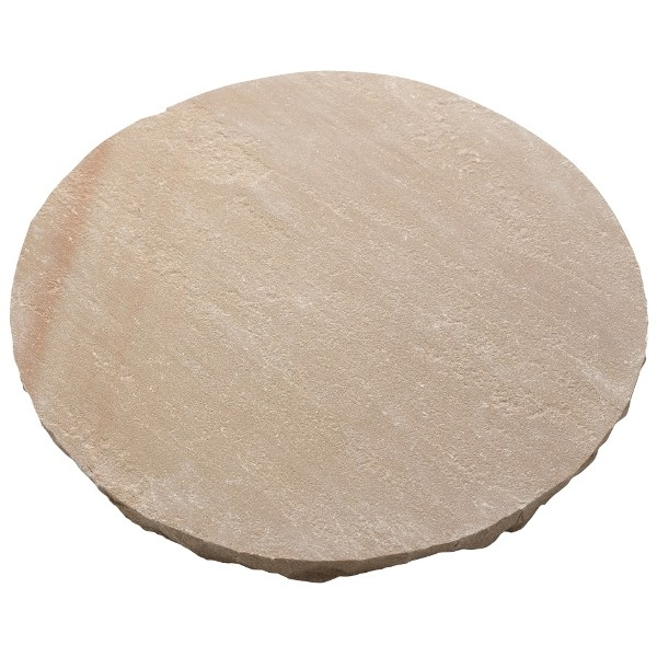 Natural Round Autumn Stepping Stones - Pack of 100
