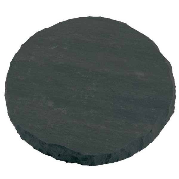Natural Round Charcoal Stepping Stones - Pack of 78
