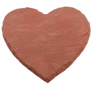Warm Heart Natural Stepping Stones - Pack of 78