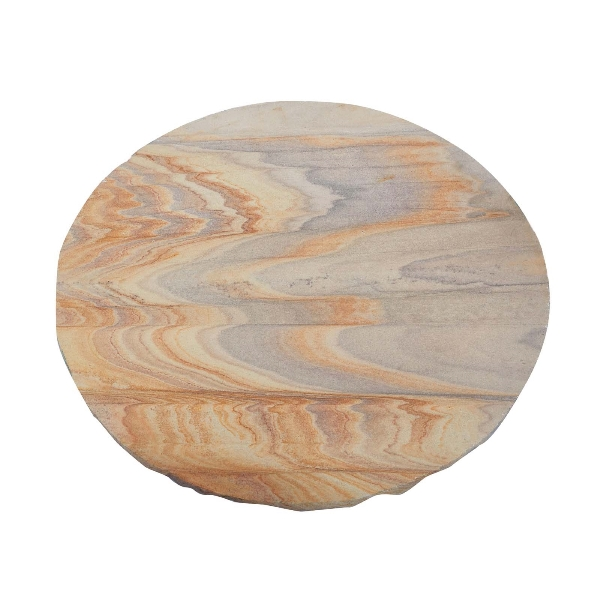 Natural Round Rainbow Stepping Stones - Pack of 96