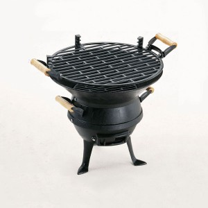 Grill Chef Cast Iron Barrel Barbecue