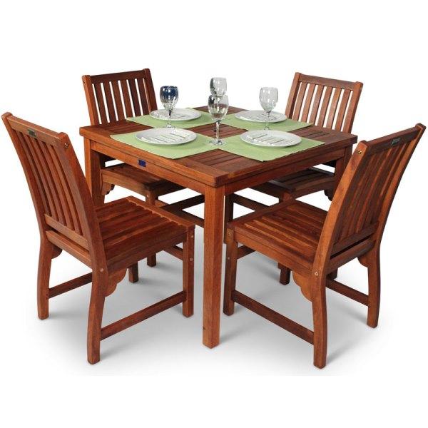 Devon 4 Seater Dining Set