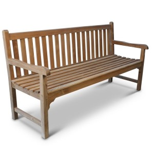 Warwick 4 Seater Teak Bench