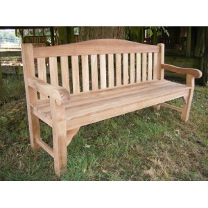 Oxford 4 Seater Teak Bench