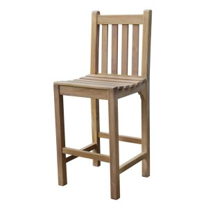 Warwick Teak High Bar Chair
