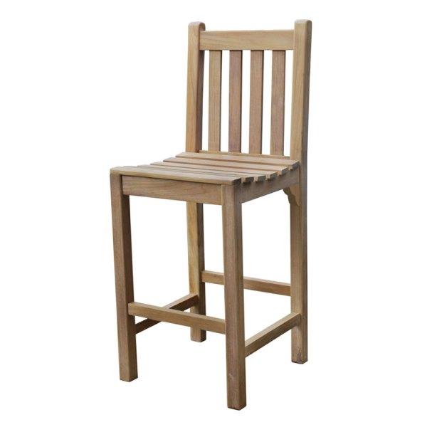 Warwick Teak High Bar Chair