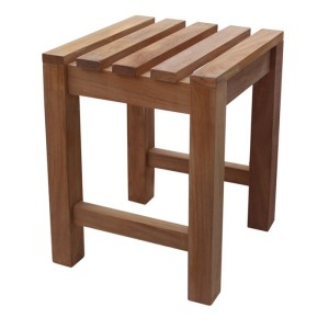 Brackenstyle Teak Low Stool