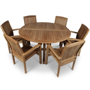 Madison 6 Seat Round Patio Set