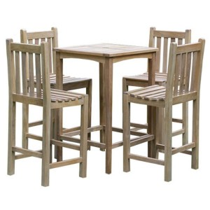 Warwick Teak Bar Table Set