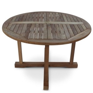 Dalby Round Teak Table
