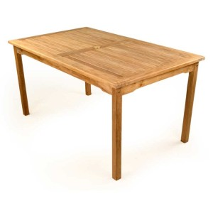Great Warwick Teak Rectangular Table