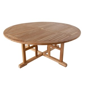 Stamford 180cm Round Teak Table