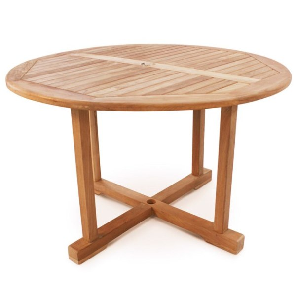 Dalby Round Teak Table