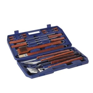 Lifestyle 18pce Hardwood Barbecue Tool Set