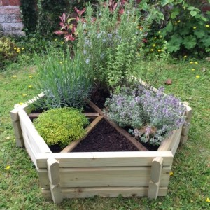 Herb Wheel Planter