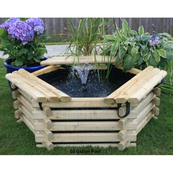 Build A Raised Pond: 50 Gallon Raised Garden Ponds