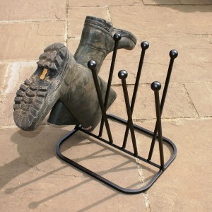 4 Pair Diagonal Boot Rack