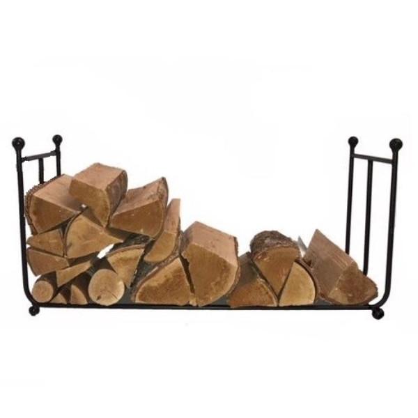 Wide Metal Log Rack
