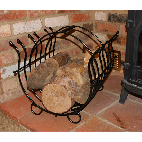 Steel Log Basket