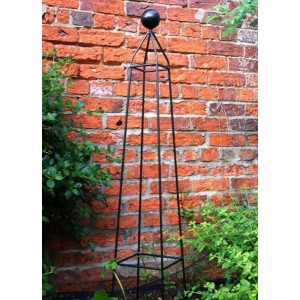 Cleo Obelisk With Ball Finial