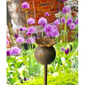 Poppy Plant Pin