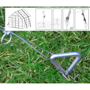 Greenhouse Anchoring Kit