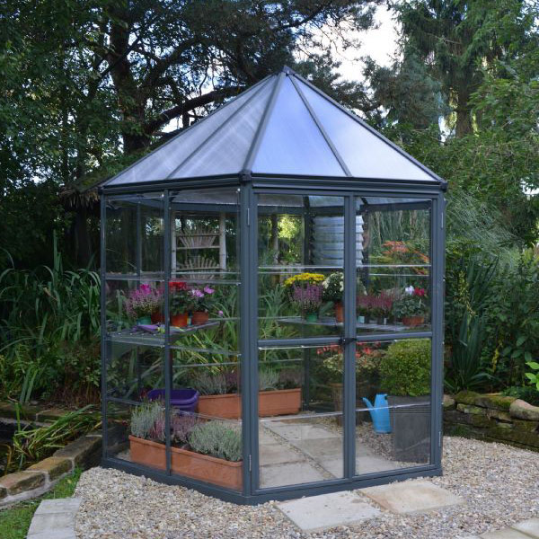 Palram Oasis Hexagonal Greenhouse 8ft
