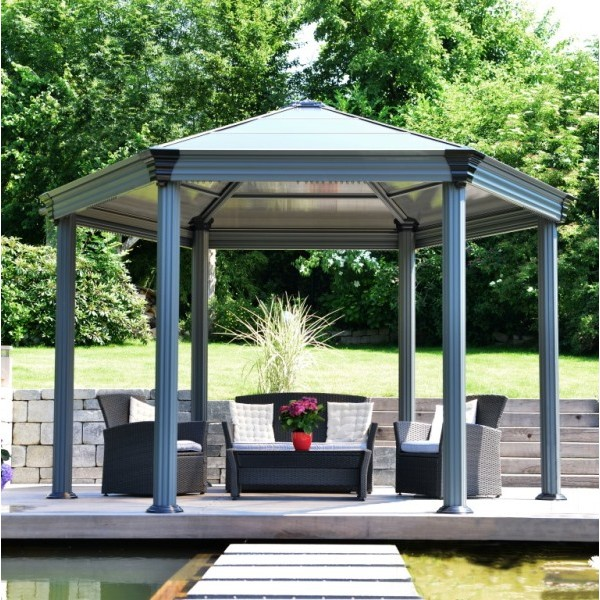 Roma Hexagonal Gazebo
