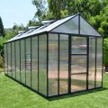 Palram 8 x 16 Anthracite Glory Greenhouse