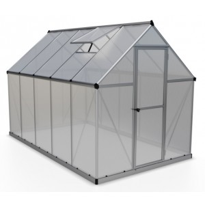 Palram Mythos 6 x 10 Polycarbonate Greenhouse