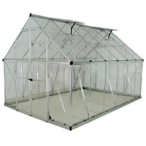 Palram 8 x 12 Octave Silver Greenhouse