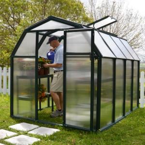 Rion EcoGrow 6 x 8 Greenhouse