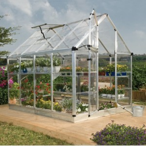 Snap & Grow ® 6 x 8 Silver Greenhouse