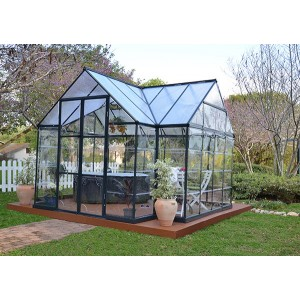 Palram Victory Orangery Chalet Greenhouse