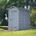 Palram Skylight 4ft x 6ft Plastic Shed - Grey