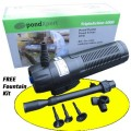 Triple Action 4000 Pond Pump, Filter and UVC