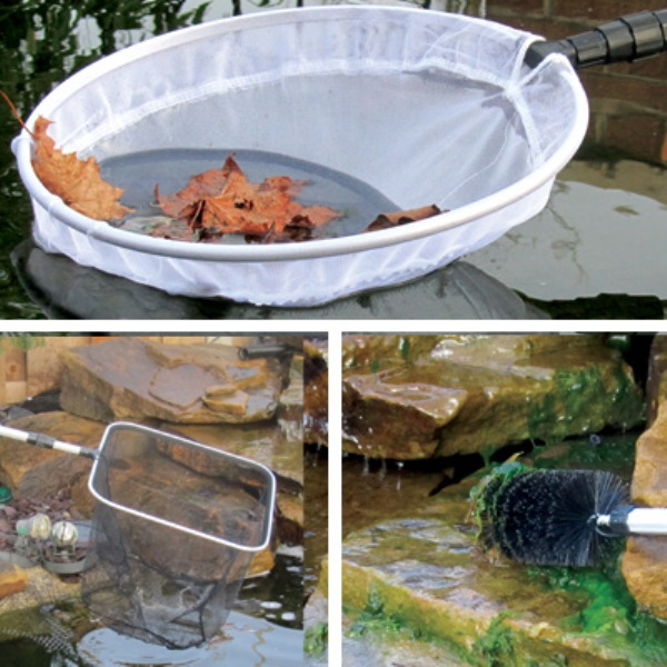 Pond maintenance kit for Garden pond cleaning