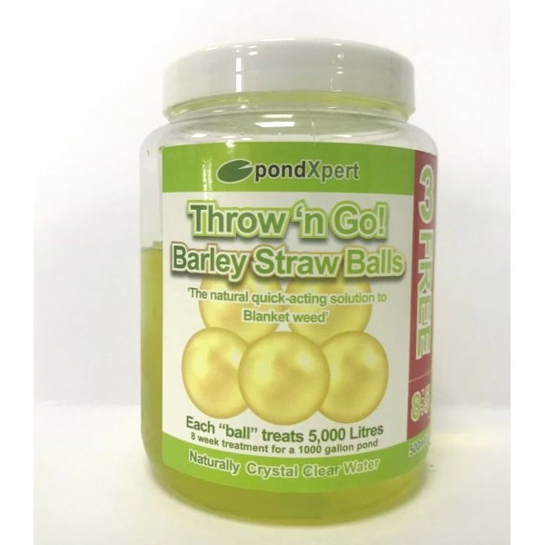 Pond Gel Barley Balls