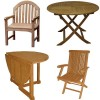Teak Tables & Chairs
