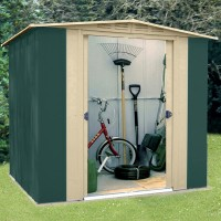 Canberra 6ft x 5ft Metal Apex Shed