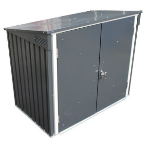 Duramax Double Waste Bin Store 5ft x 3ft