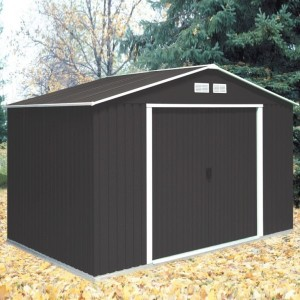 Emerald Springdale 10ft x 8ft Metal Apex Shed