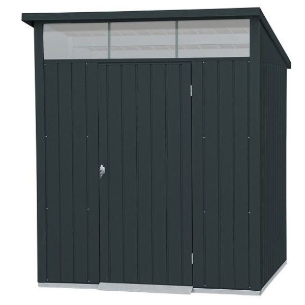 Falcon 6ft x 5ft Heavy Duty Metal Shed