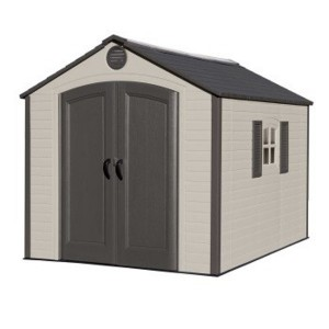 Lifetime 8ft x 10ft Shed